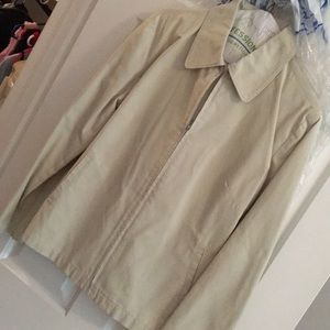 Khaki jacket from Gap factory store